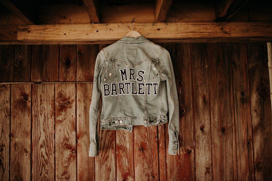 Wedding Jean Jacket