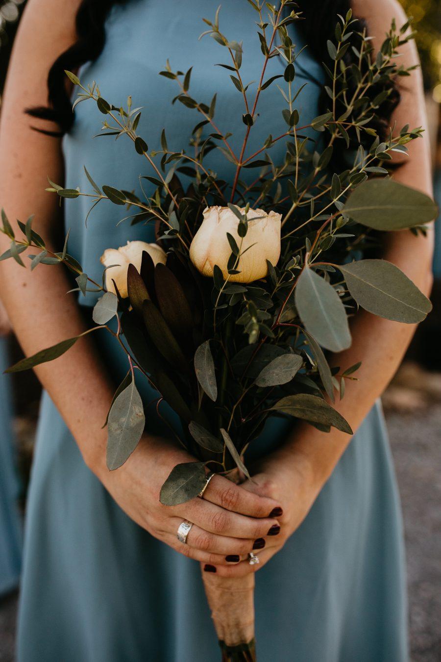 DIY bridal party photos