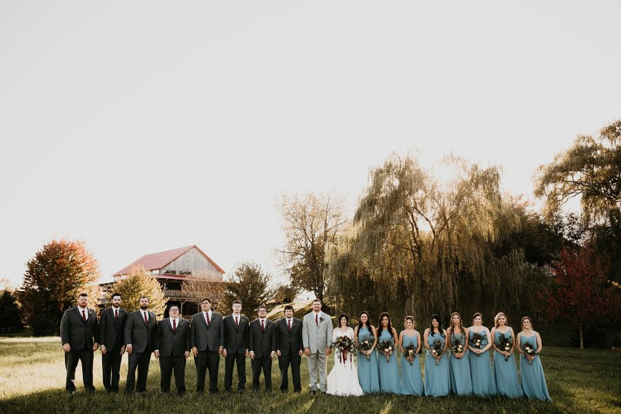 Wedding Photos under a willow tree