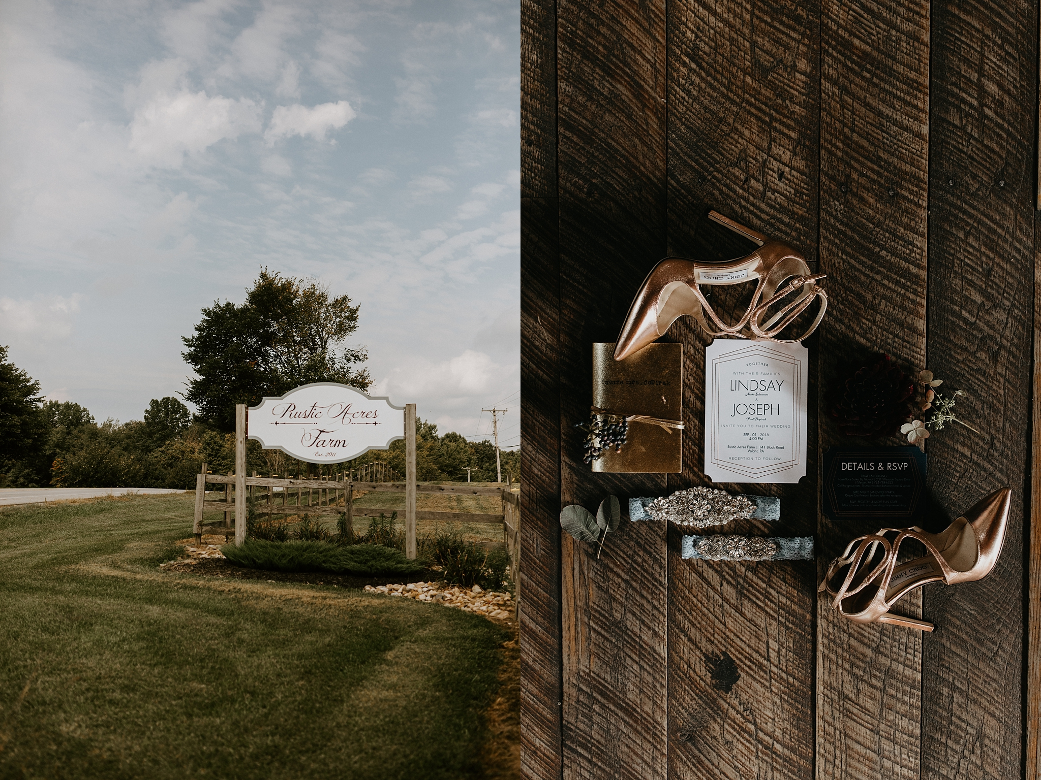 Pittsburgh Wedding Photography at Rustic Acres Farm