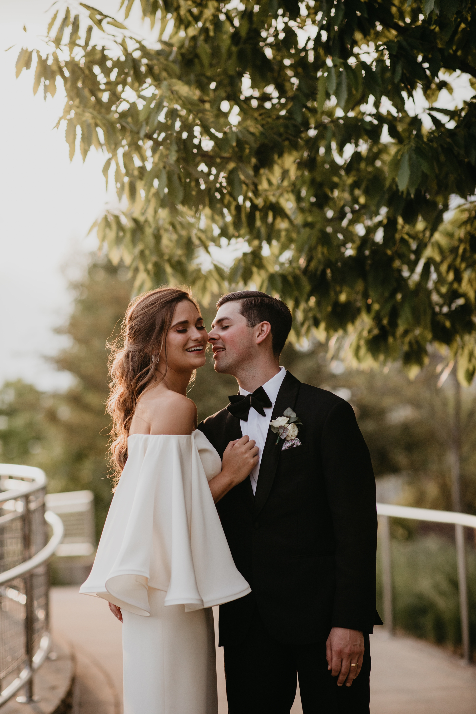 Pittsburgh wedding photography at Phipps conservatory